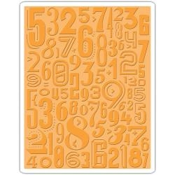 Sizzix Embossing folder - Numeric (661827)