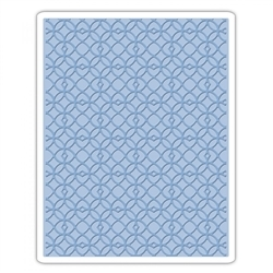 Sizzix Embossing folder - Latticework (661825)