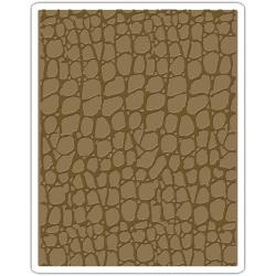 Sizzix Embossing folder - Croc (661823)