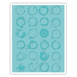 Sizzix Embossing folder - Ringer (661828)