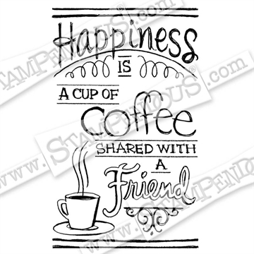 Stampendous - Shared Coffee