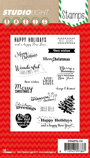 Happymade - Studio Light - Clear stamp set - STAMPSL156