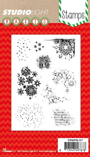 Studio Light - Clear stamp set - STAMPLS157
