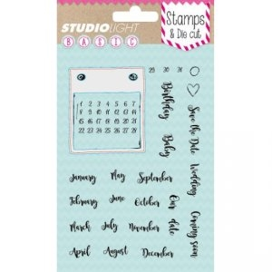 Studio Light - Clear stamp and die - BASICDC06