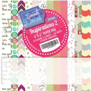 Sweet Dixie Paper Pad - Inspirations 2 - 15x15cm - SDPP0003