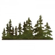 Sizzix Thinlits Die - Edge - Tree Line (661604)