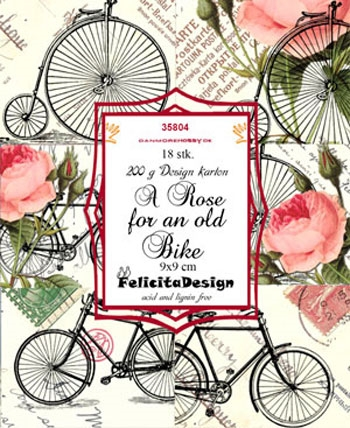 Felicita Design Toppers - Roses and bikes