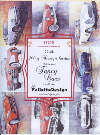 Felicita Design Toppers - Fancy Cars