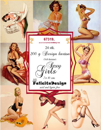 Felicita Design Toppers - Sexy Girls
