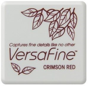 Versafine Ink Pad Mini - Crimson Red