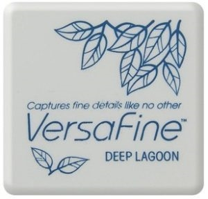Versafine Ink Pad Mini - Deep Lagoon