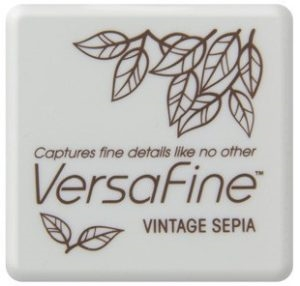 Versafine Ink Pad Mini - Vintage Sepia