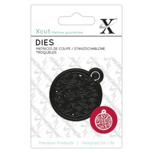Xcut Mini Die - Filigree Bauble - XCU 504008