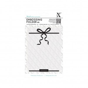 Xcut embossing folder - Large Bow