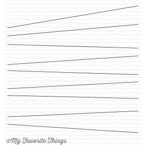 My Favorite Things cling rubber stamp - Wire (BG-73)