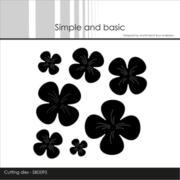 Happymade - Simple and basic - Die - Flowers (SBD095)