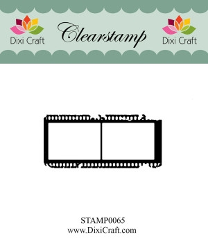 Dixi Craft clear stamp - STAMP0065